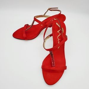 Red Nina shoes size 6.5